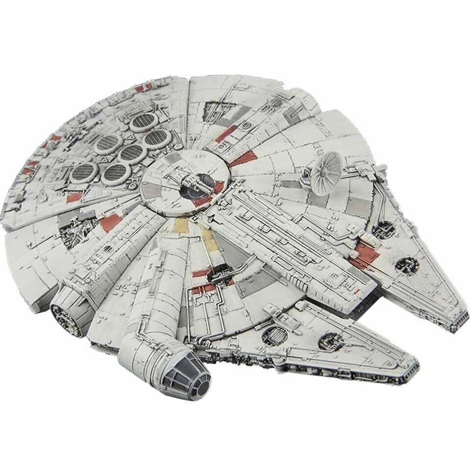 Star Wars Vehicle Mecha Collection 006 Millennium Falcon Super Detail Model Kit