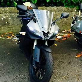 2014 YZF R125 - 3,300 miles - Lots of extras!!!