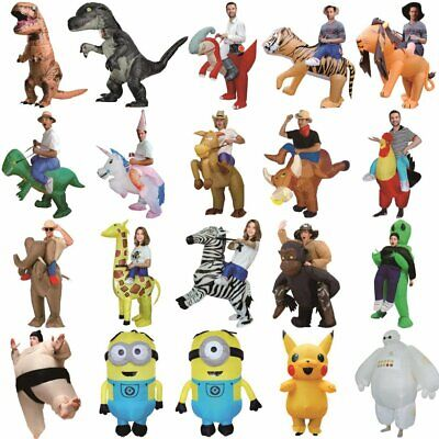 Inflatable Costume T-rex Dinosaur Pikachu Baymax costume inflatable - Halloween Dinosaur
