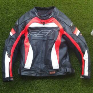 RST PRO SERIES CPX-C LEATHER MOTORCYCLE JACKET - UK 46 / EUR 56