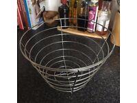 Wire Spiral Fruit Basket