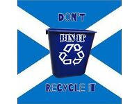 Dont Bin it Recycle it - JUNK-WASTE REMOVAL,COMMERCIAL & DOMESTIC PRICES FROM £15