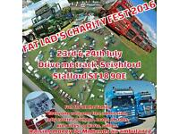 Charity truck show