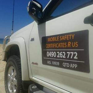 Mobile Safety / Roadworthy Certificates R US Nambour Maroochydore Area Preview