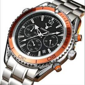 High quality wrist watch with gift box perfect gift