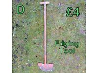 Edging Tool
