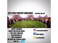 Belly buster challenge - with free body fat and breakdown analysis