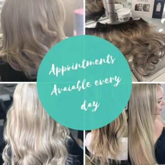 ZIP PAY human hair extensions and colouring services