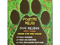 Positive Walks Dog Walking/Dog walker