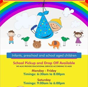 FEEL HOME Family Day Care also provide pickup and drop off service Blair Athol Port Adelaide Area Preview