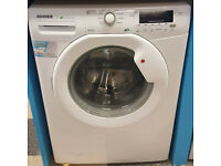 N707 white hoover 7kg 1600spin washing machine comes with warranty can be delivered or collected