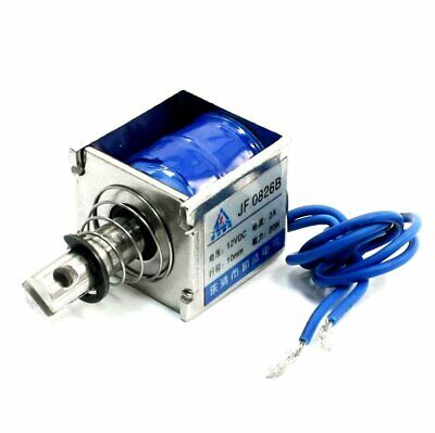 3pcs Dc12v 2a 20n10mm Pull Push Type Linear Motion Solenoid Electromagnet