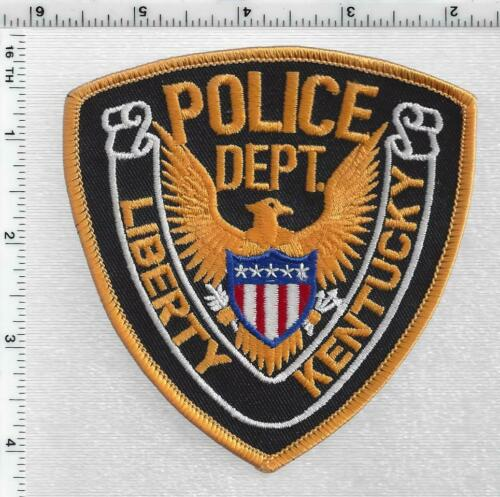 Liberty Police  (Kentucky) 1st Issue Shoulder Patch