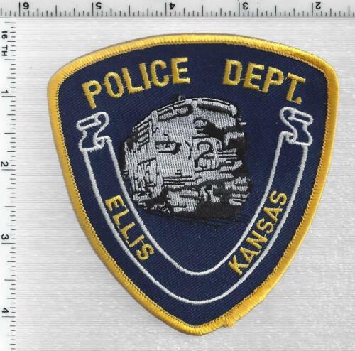Ellis Police (Kansas) 2nd Issue Shoulder Patch