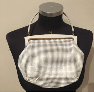 Glomesh  white authentic vintage hand  bag.RRP $200 Donvale Manningham Area Preview