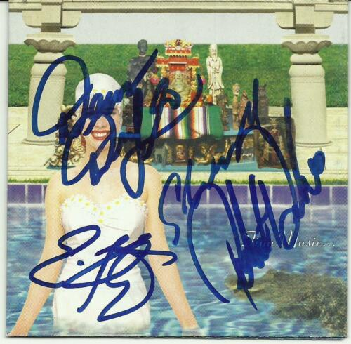Stone Temple Pilots Signed Cd By All 4 Coa + Proof! Scott Weiland Autograph Rare