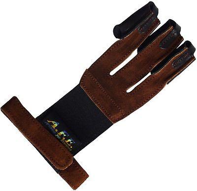 Bogensport Schießhandschuh, Bogenhandschuh, Fingerschutz Halona XL