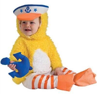 Kleinkind Kinder Noahs Arche Sammlung Hübsche Plüsch Ente Duckie Kostüm Outfit