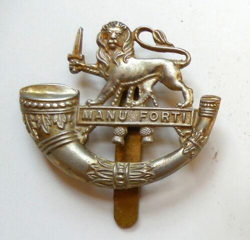 British WW II Herefordshire Light Infantry Cap Badge Very Good Condition