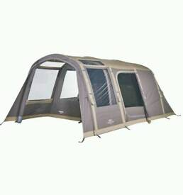 Vango solace tc 400, airbeam, polycotten, 2017 model, luxury tent.