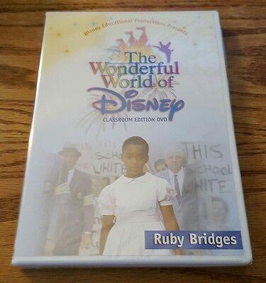Ruby Bridges  Dvd  Classroom Edition  Wonderful World Of Disney Very Rare New