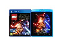 STAR WARS PLAYSTATION 4 + STAR WARS MOVIE BRAND NEW SEALED