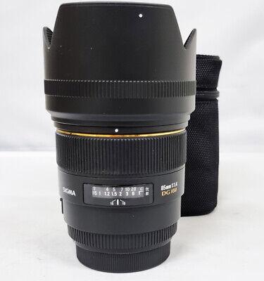 # Sigma EX 85mm f/1.4 HSM DG EX Lens For For Canon-s/n 5470