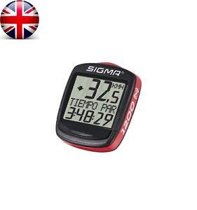 SIGMA Baseline BC 1200 WL Wireless Bike Bicycle Speedometer Distance Cycling