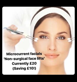 Non-surgical face lift facial
