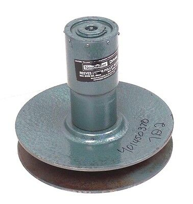 New November Drives Model 22 Reeves Motor Pulley
