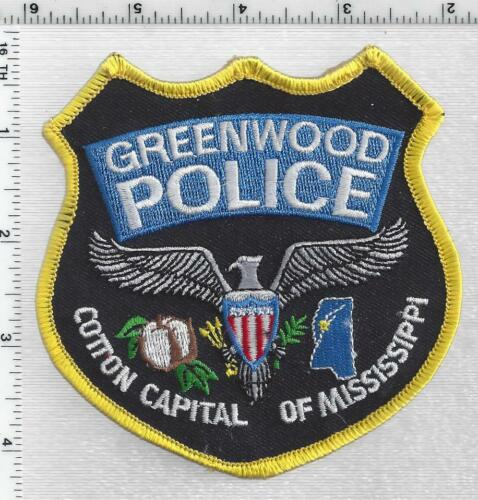 Greenwood Police (Mississippi) 3rd Issue Shoulder Patch