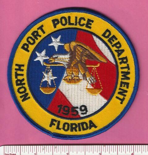 North Port FL Fla State Florida Law Enf Police Shoulder Patch - Sarasota County