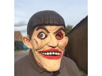 Ventriloquist FX Full Head Latex Halloween Horror Mask RRP £29.99