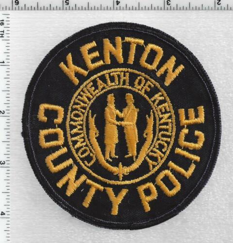 Kenton County Police (Kentucky) 1st Issue Shoulder Patch