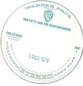A2 USA PROMO cd single TOM PETTY WALLS PRO CD 8285 - Italia - A2 USA PROMO cd single TOM PETTY WALLS PRO CD 8285 - Italia