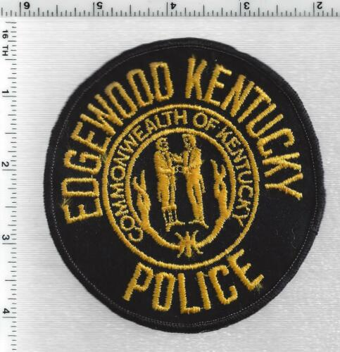 Edgewood Police (Kentucky) 1st Issue Shoulder Patch