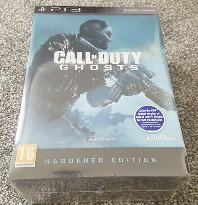 PS3 Call of Duty Ghosts Hardened Edition New Factory Sealed Playstation 3...