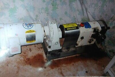 Millipore Tangential Flow Filtration System Baldor Motor 2hp Gh Rotary Pump