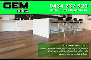 Gem floors. Floating floors Junction Village Casey Area Preview
