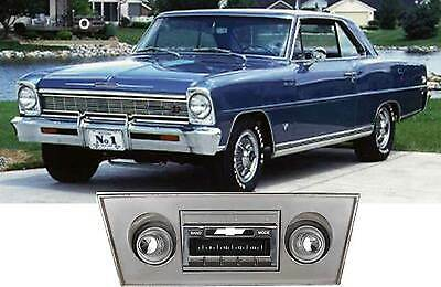 USA-630 II* 300 watt 1966-1967 Chevy Nova AM FM Stereo Radio iPod USB Aux inputs