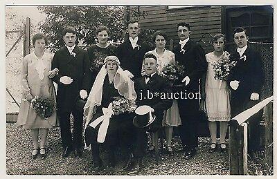 METZINGEN Hochzeit / Wedding Marriage * Foto-AK um 1920 Richard Handel