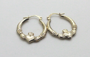9ct Gold Claddagh Earrings Mandurah Mandurah Area Preview