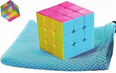 Rubik's Cube Puzzle Game Children Toy Gift Kids Magic Rubix Ultra Speed 3x3 New