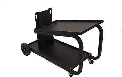 Welding Cart Universal 2 Tier Mig Welder Tig Storage Cutter Drawer Cabinet Tank