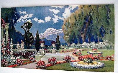 Vintage Art Nouveau Print