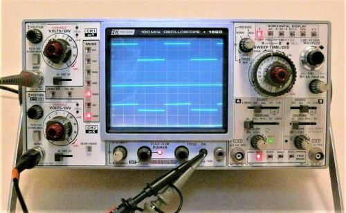B&K 1450-P 100 MHz QUAD TRACE SCOPE W/ MANUALS - PRICE REDUCED $60 * 0116210 *