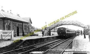 Milltimber Railway Station Photo. Murtle - Culter. Aberdeen to Ballater Line