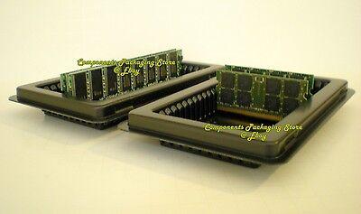 LOT 100 DESKTOP ANTI-STATIC TRAYS 50 Count CT SERVER DIMM MEMORY RAM