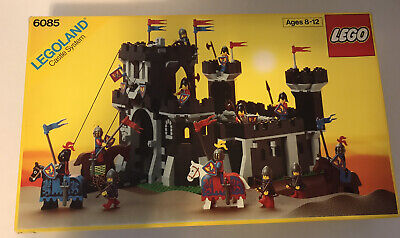 Lego Castle Set 6085 Black Monarch's Castle With Box And Instructions Vintage