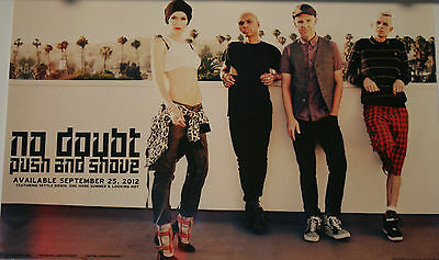 NO DOUBT PUSH AND SHOVE New Album POSTER 2012